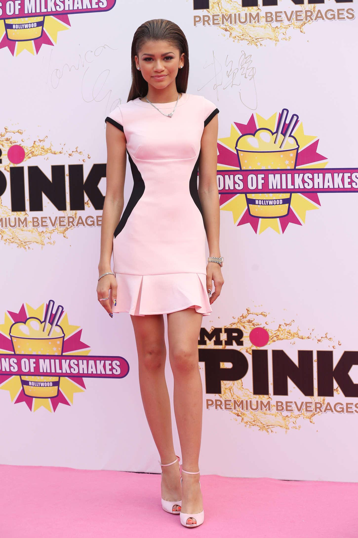 Zendaya Coleman 2014 : Zendaya: Millions of Milkshakes Grand Opening -06