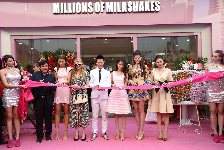 Zendaya Coleman 2014 : Zendaya: Millions of Milkshakes Grand Opening -09