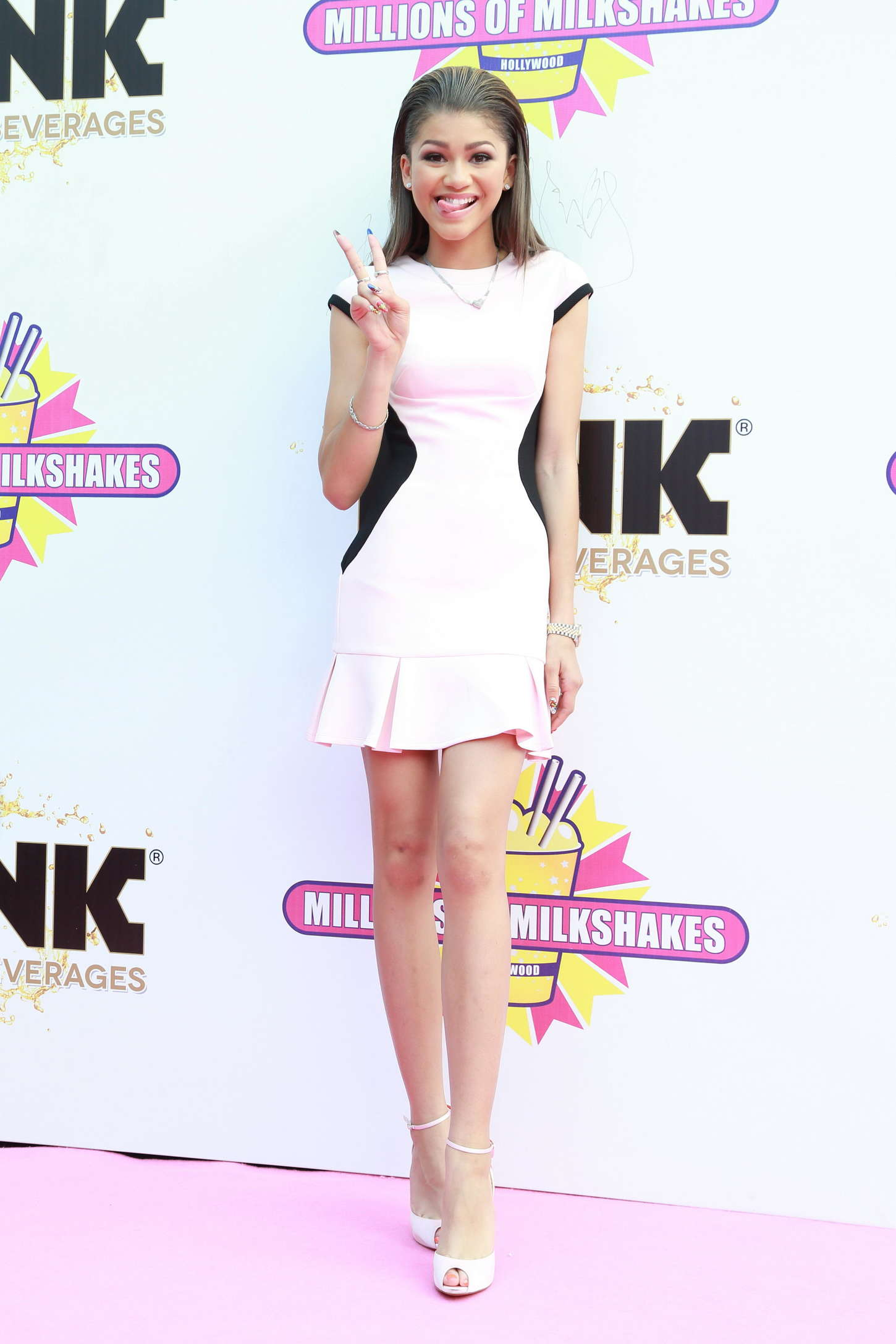 Zendaya Coleman 2014 : Zendaya: Millions of Milkshakes Grand Opening -12