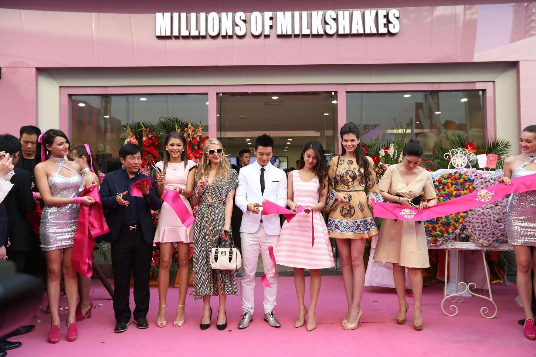 Zendaya Coleman 2014 : Zendaya: Millions of Milkshakes Grand Opening -15