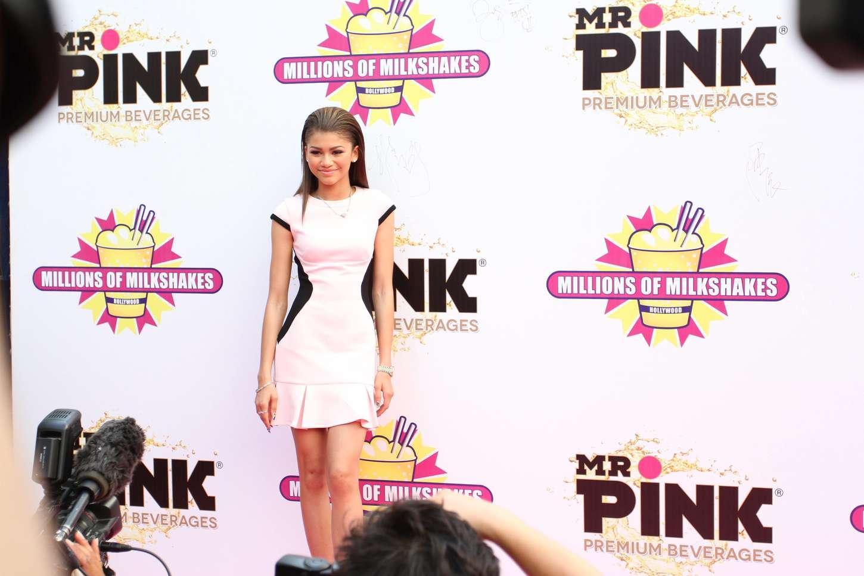 Zendaya Coleman 2014 : Zendaya: Millions of Milkshakes Grand Opening -18