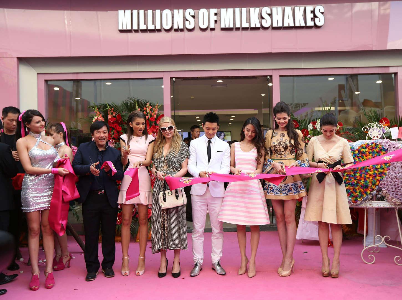 Zendaya Coleman 2014 : Zendaya: Millions of Milkshakes Grand Opening -24