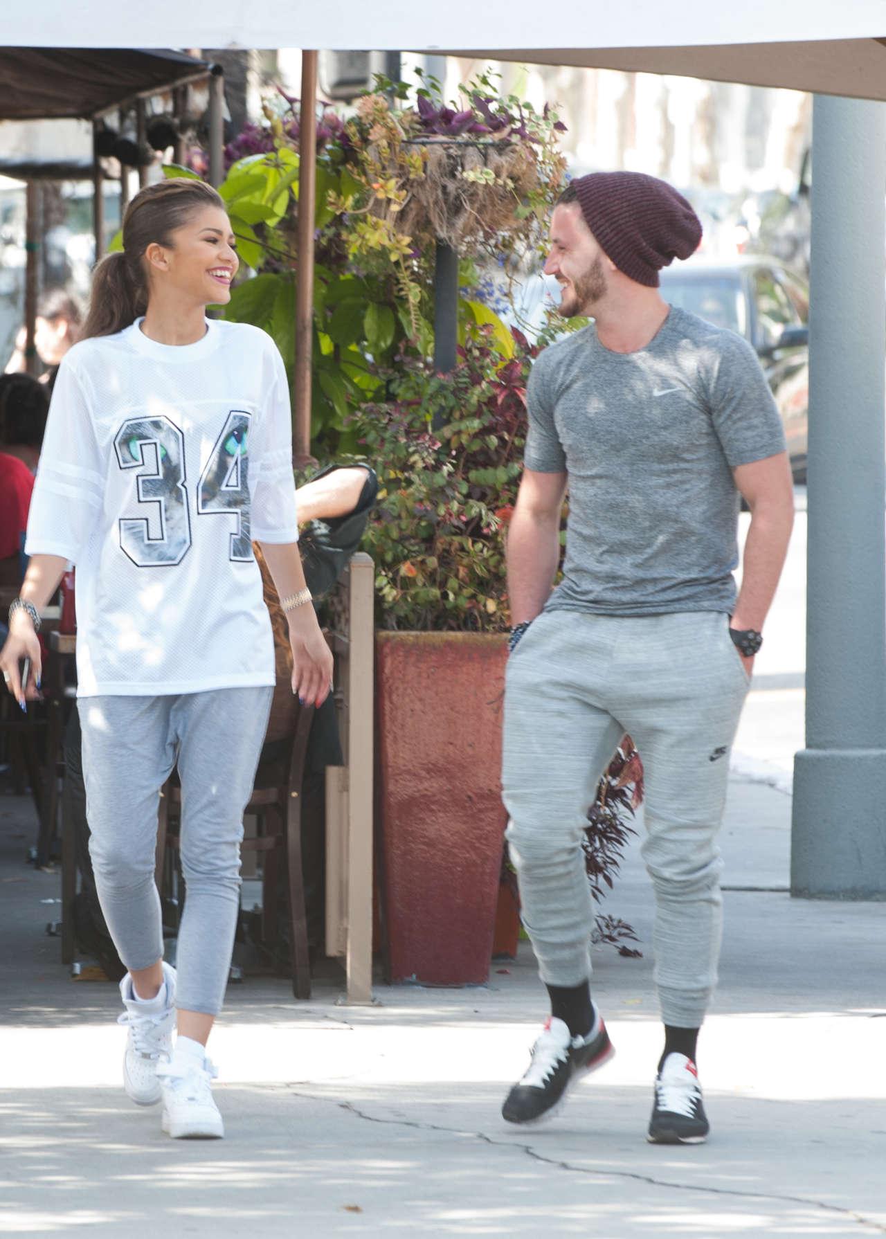 Zendaya - out and abou... Rihanna Boyfriend