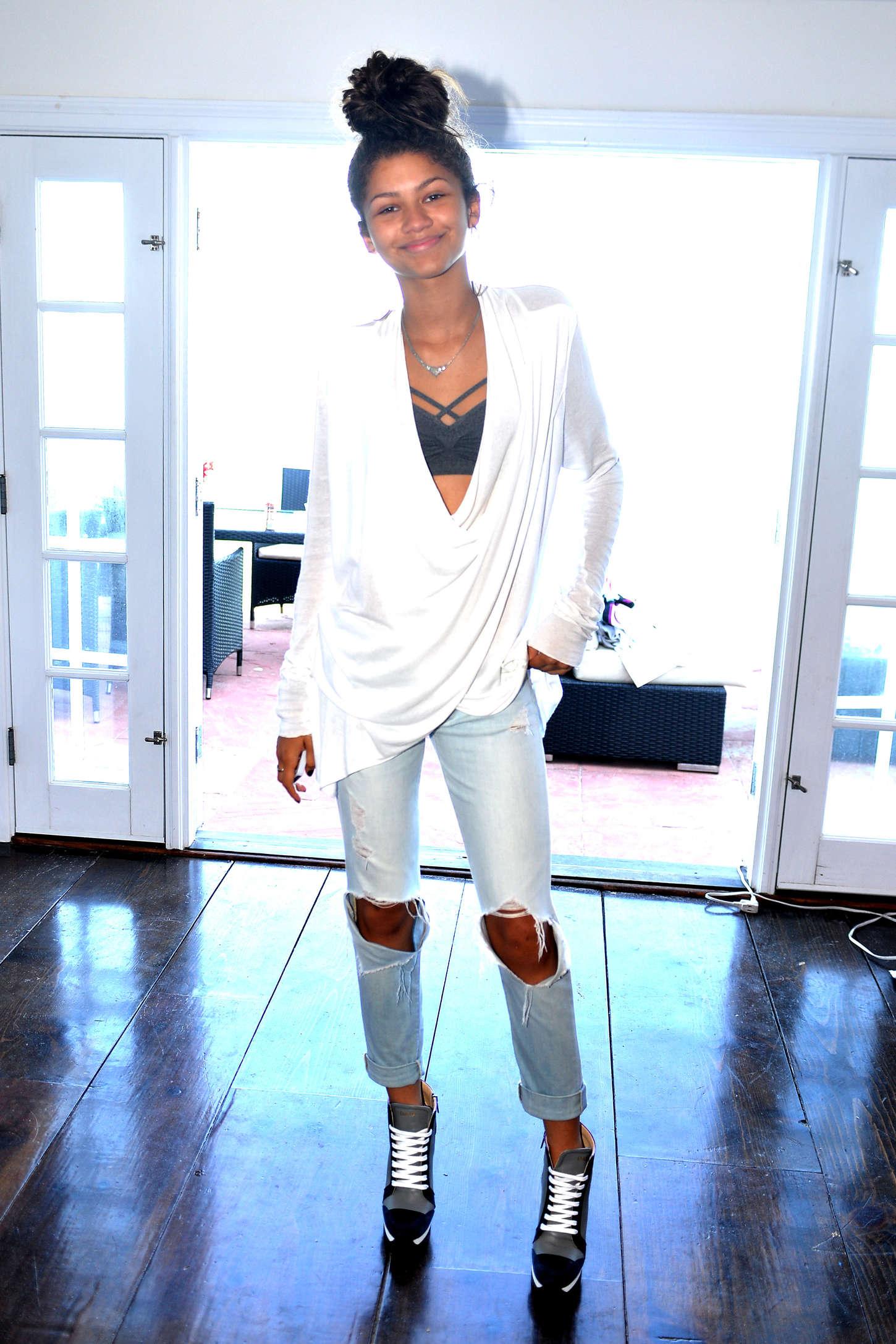 Zendaya Coleman 2014 : Zendaya Coleman: POM Private Party -04