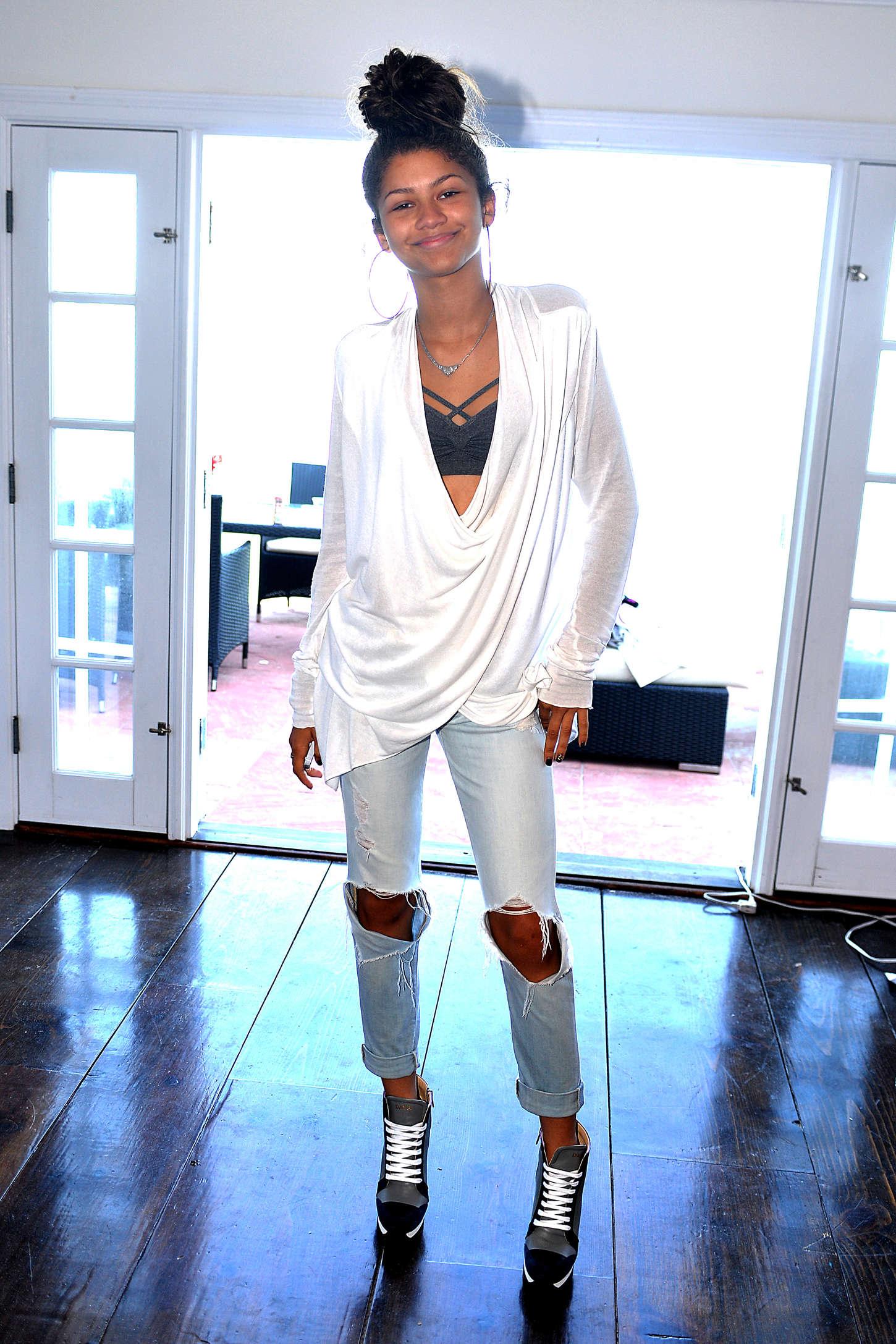 Zendaya Coleman 2014 : Zendaya Coleman: POM Private Party -30