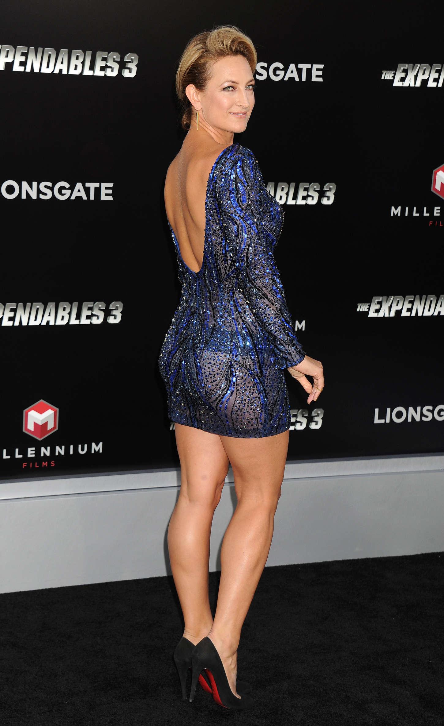 Zoe Bell: The Expendables 3 LA Premiere -11   GotCeleb