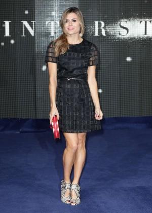 """Zoe Hardman - """"Interstellar"""" Premiere in London"""