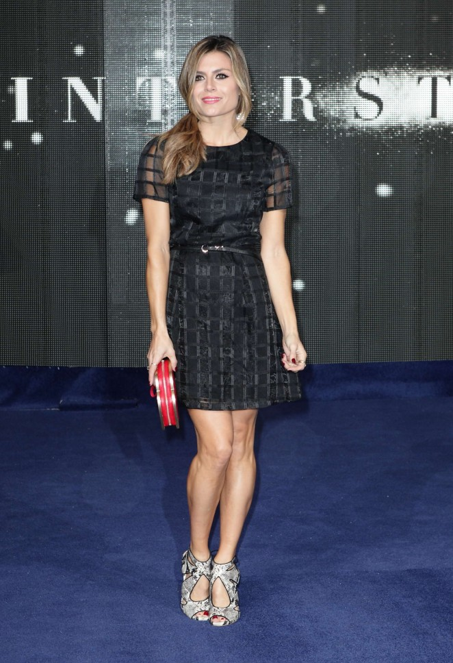 "Zoe Hardman - ""Interstellar"" Premiere in London"