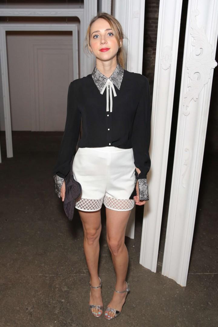 Zoe Kazan - HONOR Fashion Show in NYC