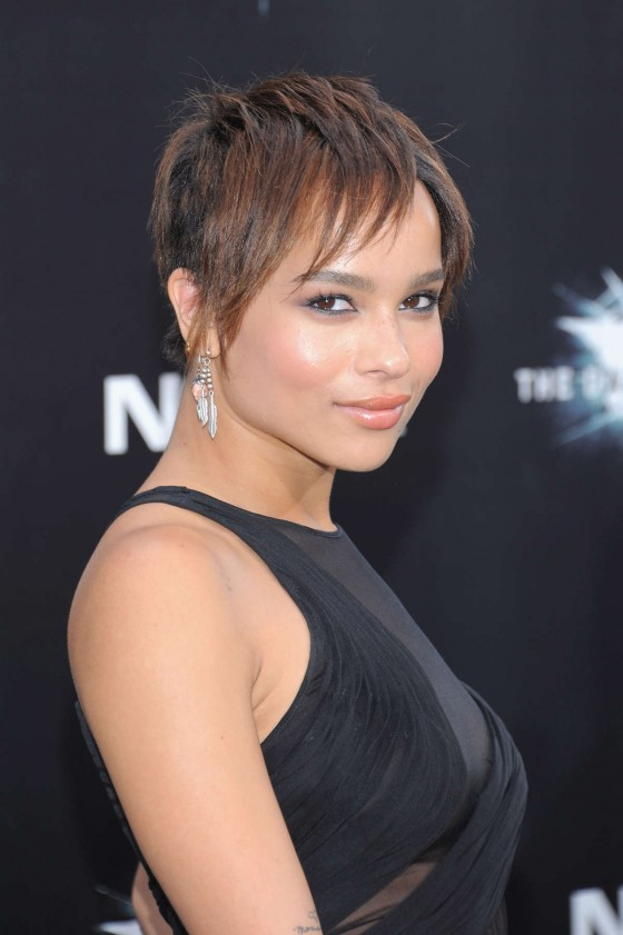 Zoe Kravitz – at The Dark Knight Rises premiere-05