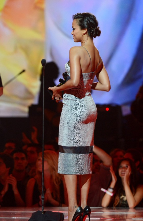 Zoe Saldana - 2012 Spike TV's 10th Annual Video Game Awards in Culver City