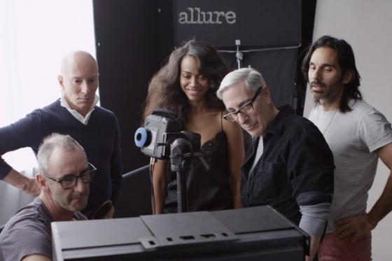 Zoe Saldana – Allure magazine 2013 -01