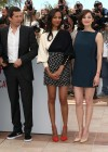 Zoe Saldana and Marion Cotillard at Blood Ties Photocall at the 66th Cannes Film Festival-16