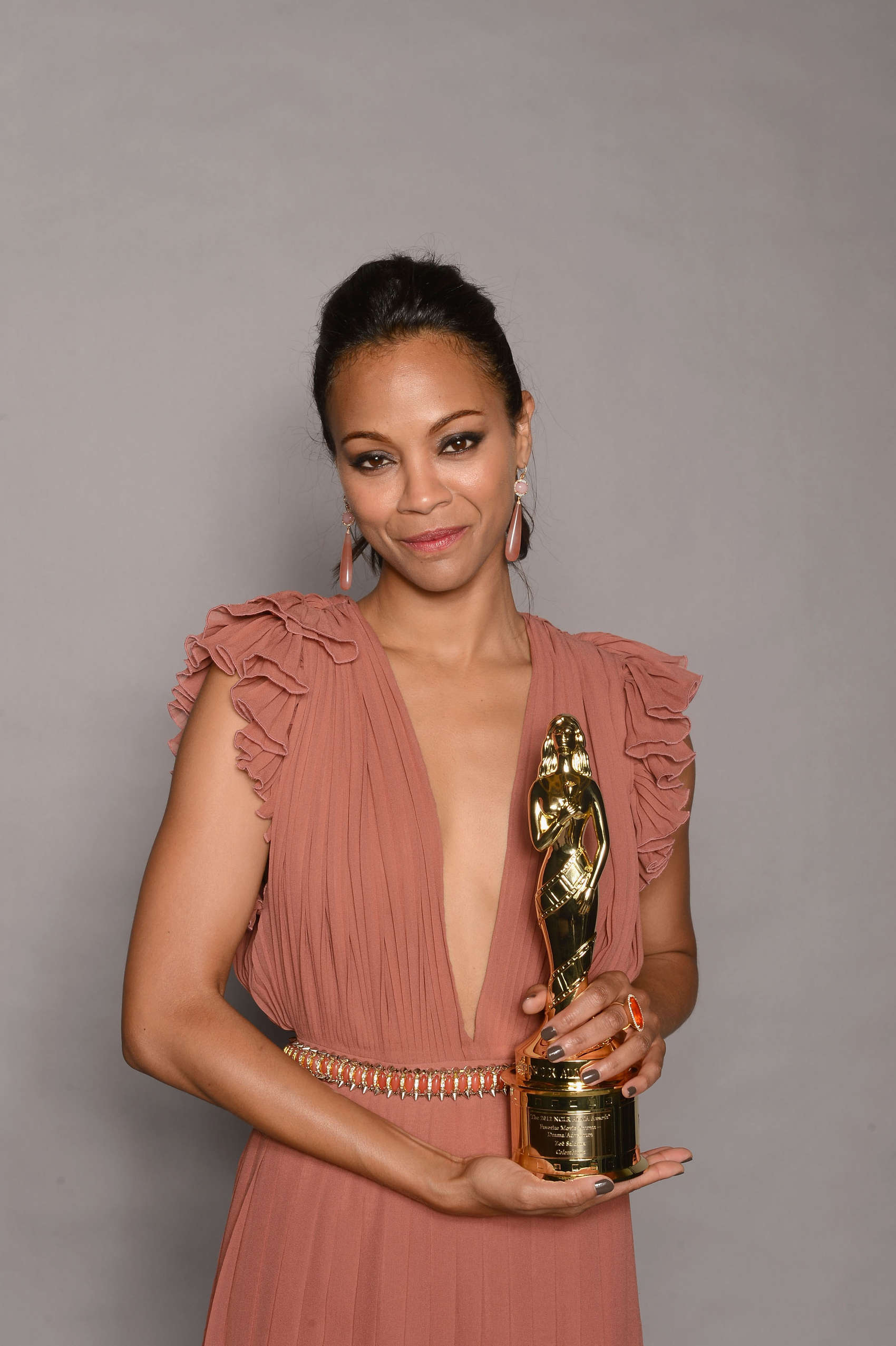 Cleavage Zoe Saldana nude photos 2019