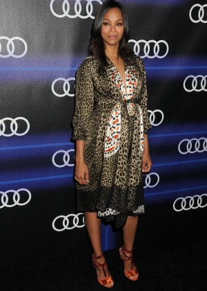 Zoe Saldana  - 2014 Audi's Celebration of Emmys Week in LA