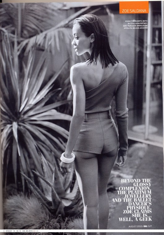 zoe-saldana-in-a-swimsuit-in-gq-magazine-scans-2010-07
