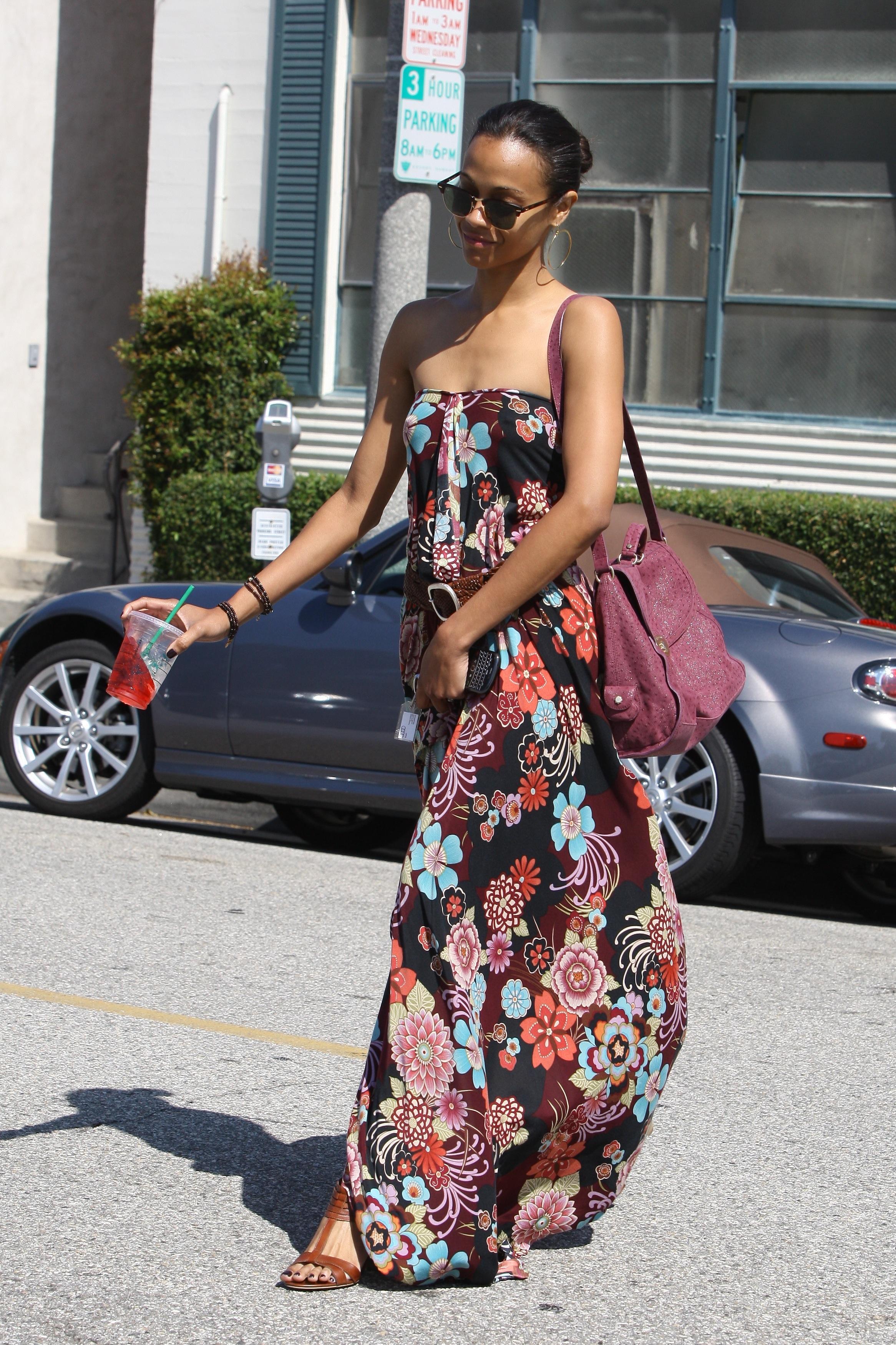 Zoe Saldana Style, Fashion Looks - StyleBistro 50