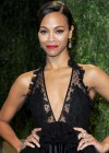 Zoe Saldana - Oscar 2013 - Vanity Fair Party -07