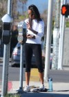 Zoe Saldana at a gym in West Hollywod -14