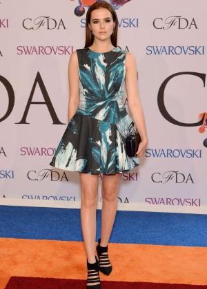 Zoey Deutch: 2014 CFDA Fashion Awards in NY -04