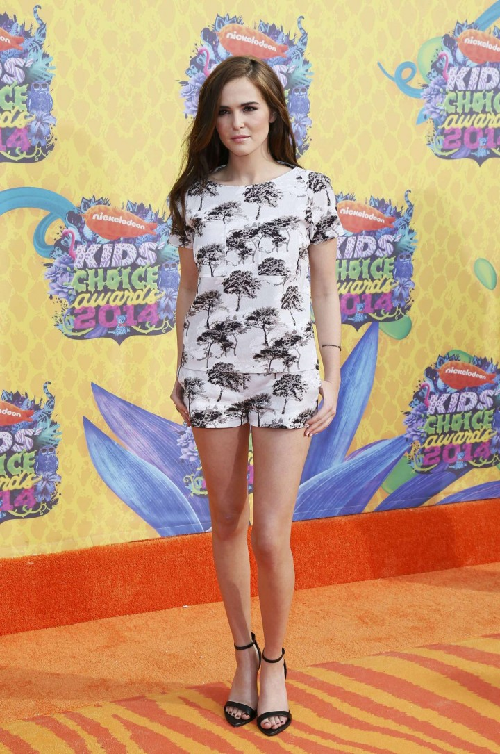Zoey Deutch – 2014 Nickelodeon's Kids' Choice Awards in LA