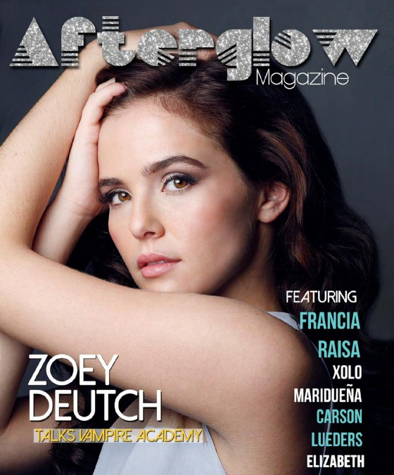 Zoey Deutch: Afterglow Magazine -02