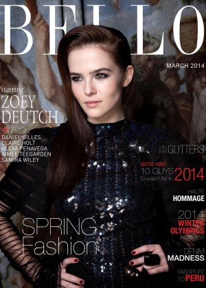 Zoey Deutch: Bello Magazine -06
