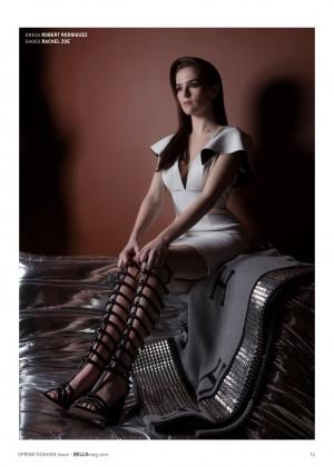 Zoey Deutch: Bello Magazine -15