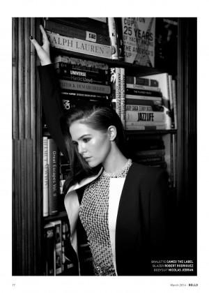 Zoey Deutch: Bello Magazine -16