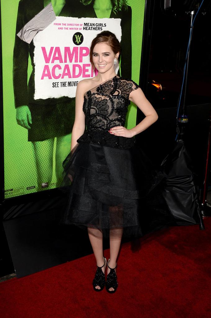 Zoey Deutch 2014 : Zoey Deutch: Vampire Academy Premiere  -08