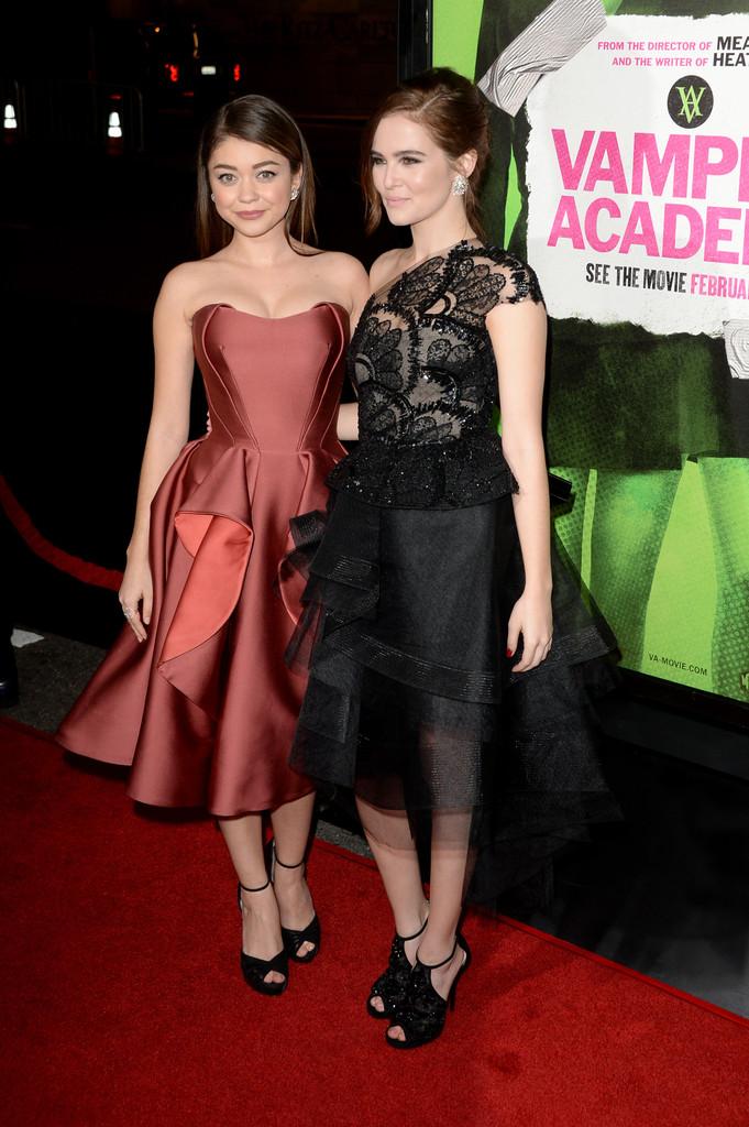 Zoey Deutch 2014 : Zoey Deutch: Vampire Academy Premiere  -10