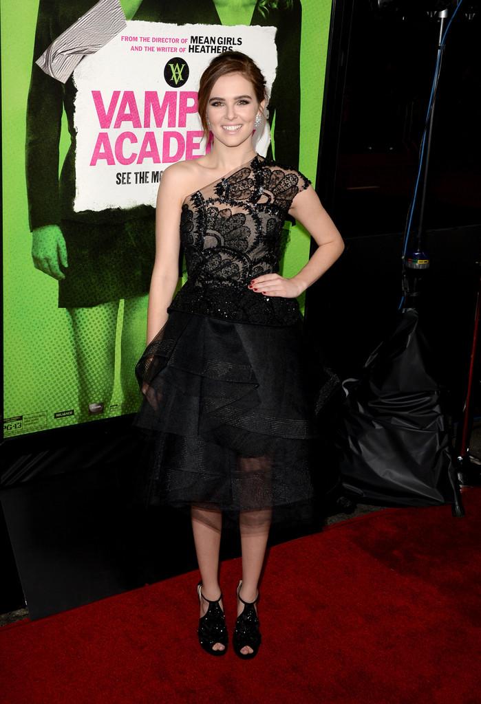 Zoey Deutch 2014 : Zoey Deutch: Vampire Academy Premiere  -12