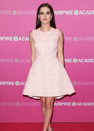 Zoey Deutch - Vampire Academy Premiere in Sydney -06