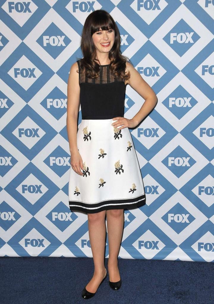 Zooey Deschanel: 2014 Fox All-Star Party -03