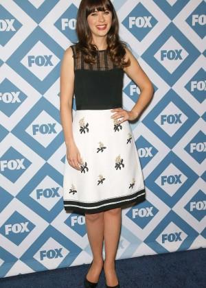 Zooey Deschanel: 2014 Fox All-Star Party -09