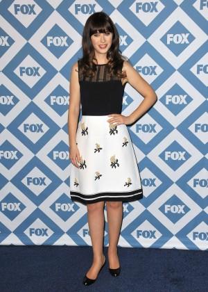 Zooey Deschanel: 2014 Fox All-Star Party -10