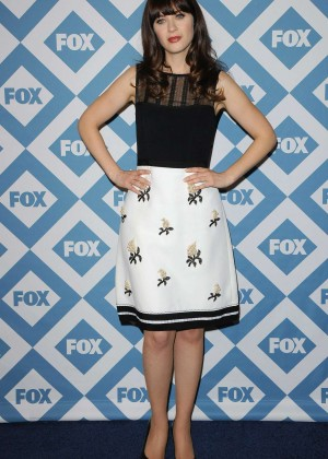 Zooey Deschanel: 2014 Fox All-Star Party -14