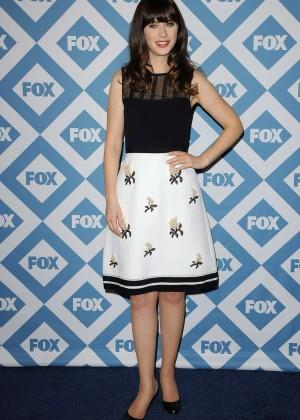 Zooey Deschanel: 2014 Fox All-Star Party -16