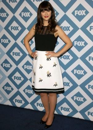Zooey Deschanel: 2014 Fox All-Star Party -17