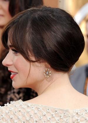 Zooey Deschanel: Golden Globe 2014 Awards -04