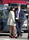 Zooey Deschanel - Leggy in short dress on the set of New Girl-03