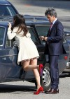 Zooey Deschanel - Leggy in short dress on the set of New Girl-07