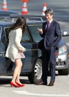 Zooey Deschanel - Leggy in short dress on the set of New Girl-13