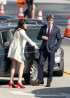 Zooey Deschanel - Leggy in short dress on the set of New Girl-14