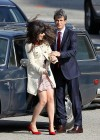Zooey Deschanel - Leggy in short dress on the set of New Girl-15