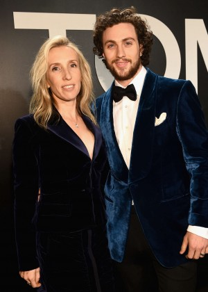 Aaron Taylor-Johnson - Tom Ford 2015 Womenswear Collection Presentation in LA