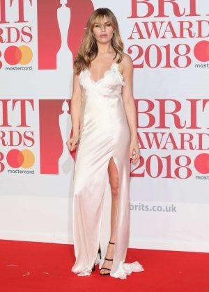 Abbey Clancy - 2018 Brit Awards in London