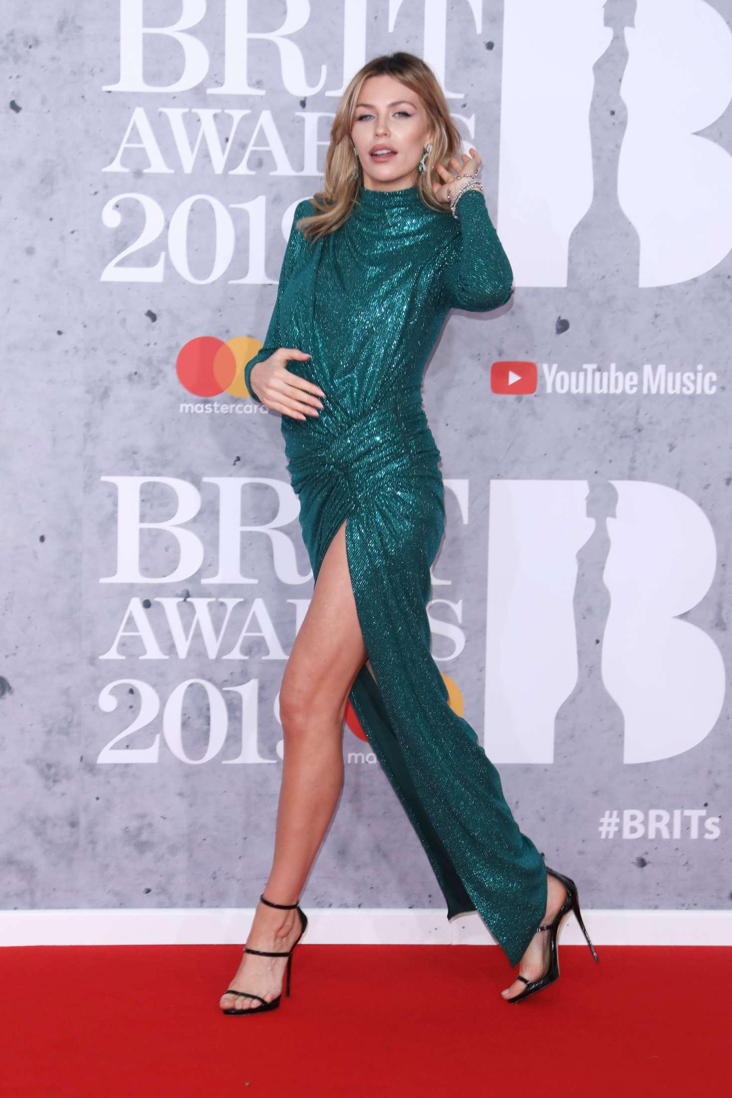 Abbey Clancy - 2019 BRIT Awards in London