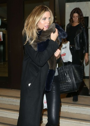 Abbey Clancy at Britain's Next Top Model Lunch in London