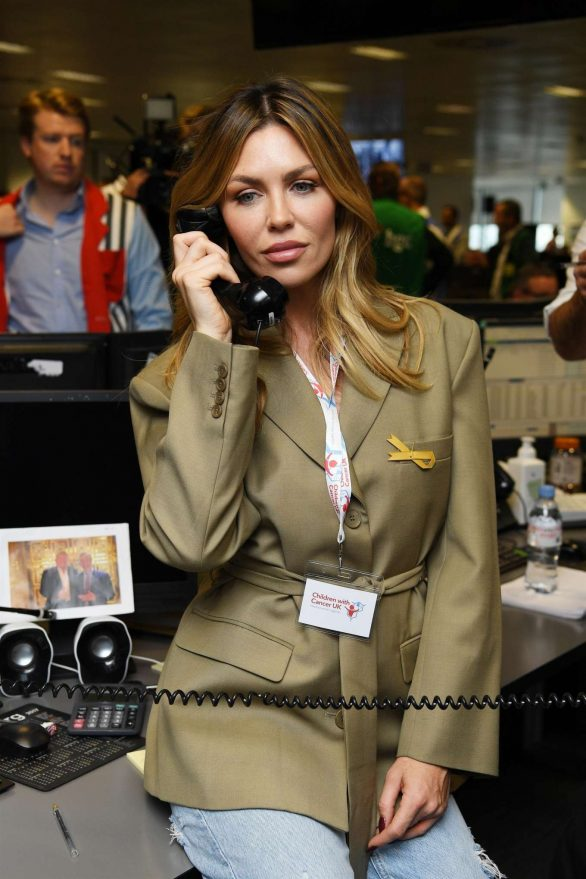 Abbey Clancy - BGC Annual Global Charity Day in London
